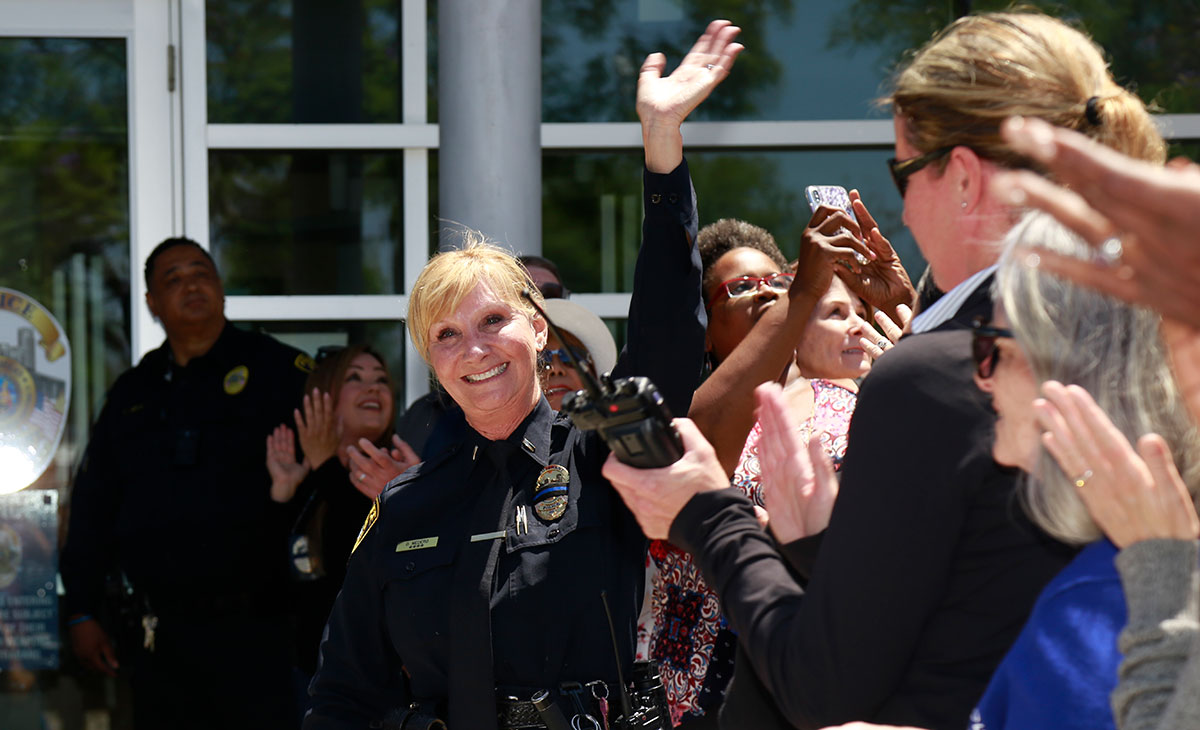 SDCCD Police lieutenant retires Featured Image