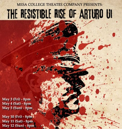 The Resistible Rise of Arturo Ui on stage at Mesa College Featured Image