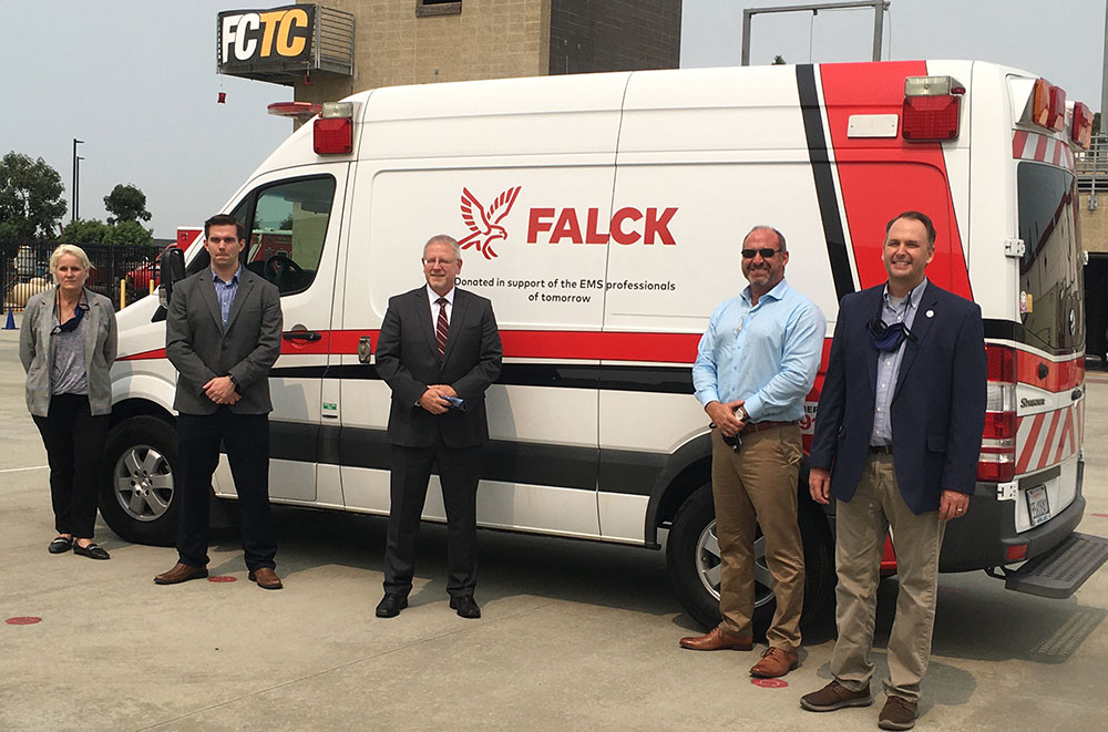 Ambulance donation adds dimension to Miramar's Fire Tech/EMT training Featured Image