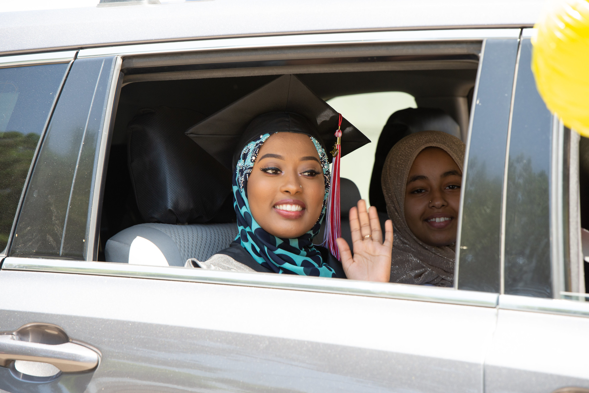 Students celebrated at City College's drive-thru graduation