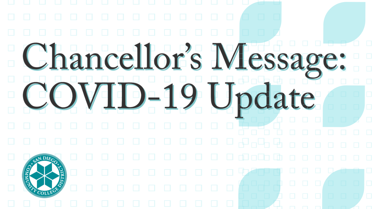 Chancellor's Message: COVID-19 update - July 14, 2020 Featured Image