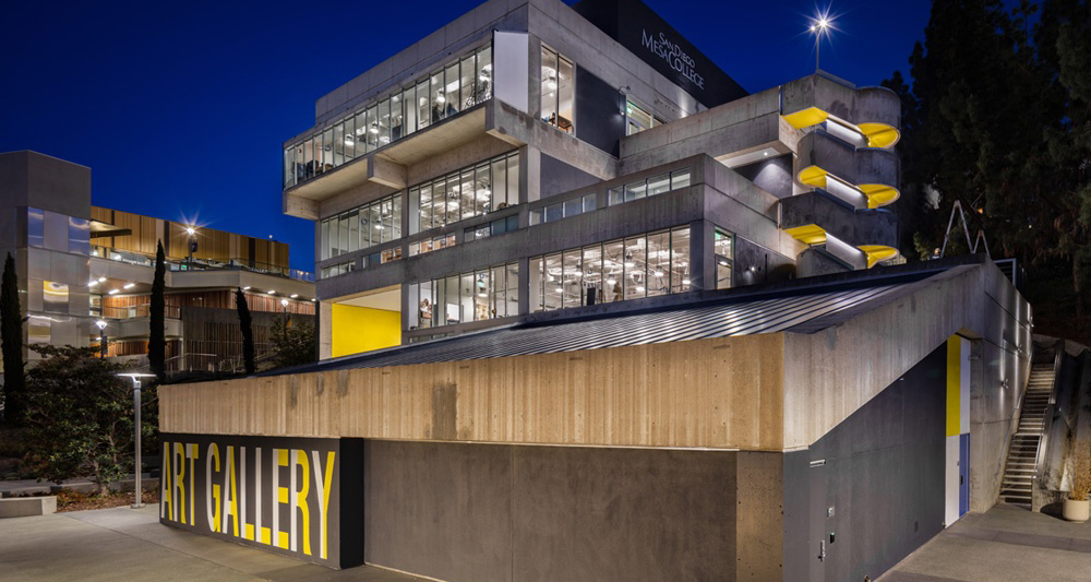 Mesa College's Fine Arts building wins architectural award Featured Image