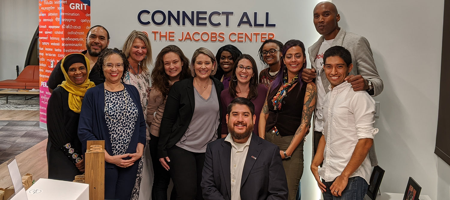 Connecting at the Jacobs Center Featured Image