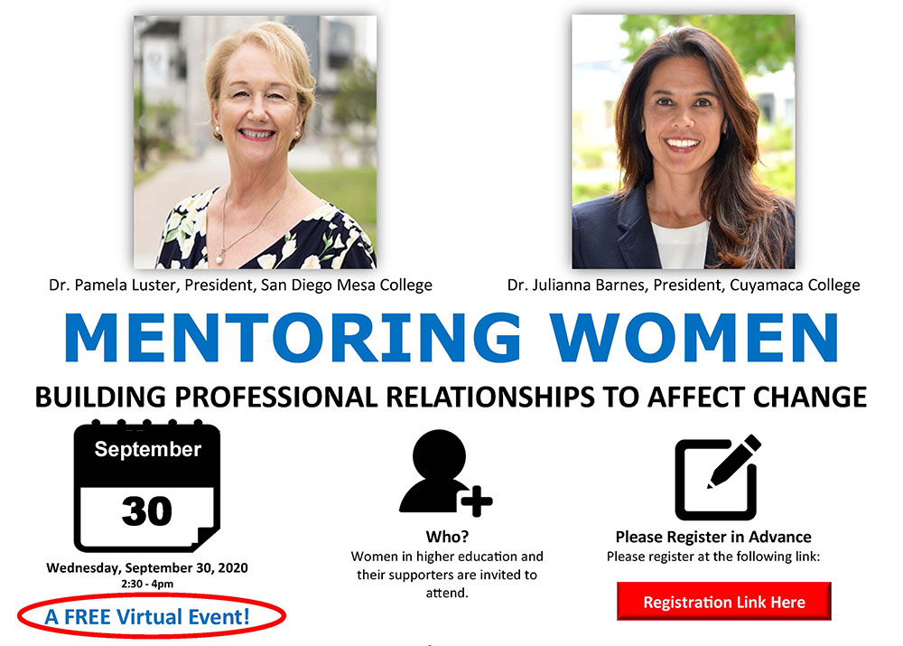 Join the discussion on Mentoring Women Featured Image