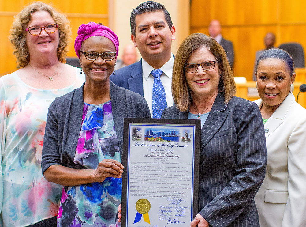 San Diego City Council issued a proclamation pronouncing August 28, 2019, as San Diego Continuing Education Day.