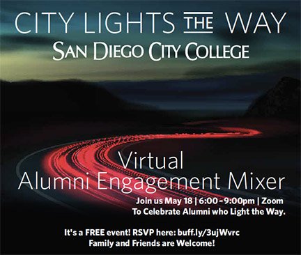 City College hosts virtual Alumni Engagement Mixer Featured Image
