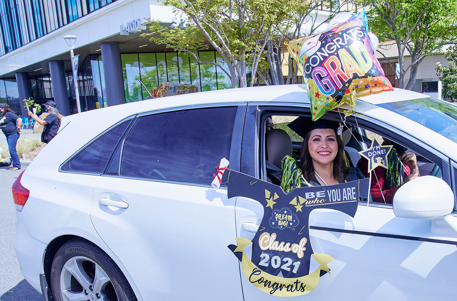 Drive-thru graduation for the San Diego College of Continuing Education Featured Image