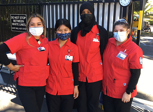 City College nursing students vaccinating thousands against COVID-19 Featured Image