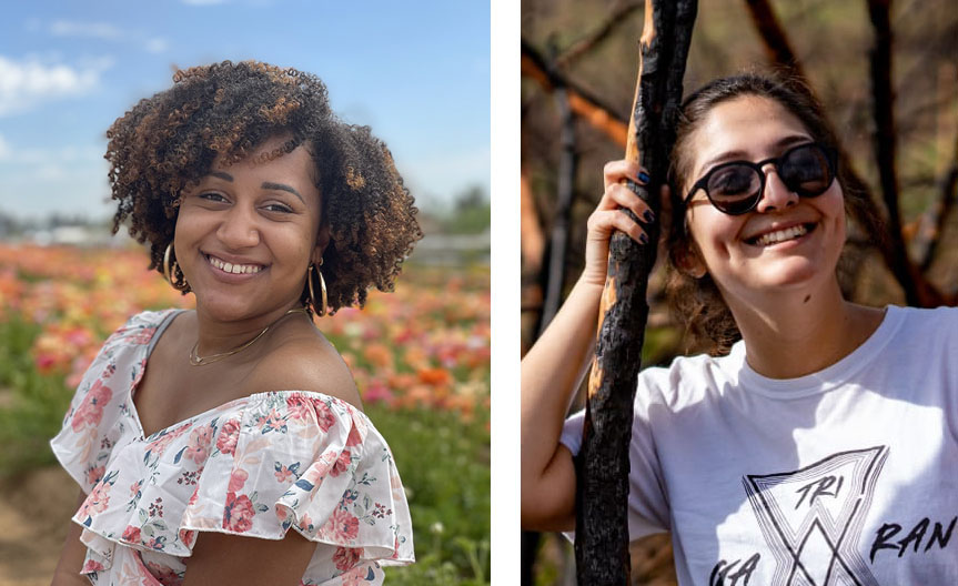 Two City College students awarded prestigious community college transfer scholarship Featured Image