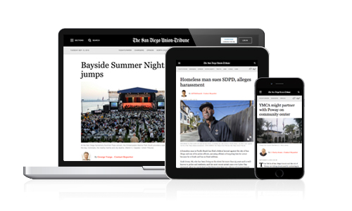 Free San Diego Union-Tribune digital subscription offered to students, educators Featured Image