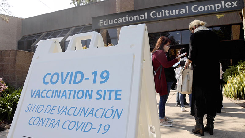 COVID-19 vaccination site opens at Educational Cultural Complex Featured Image