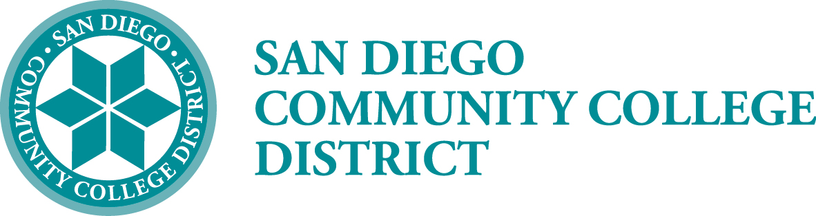 SAN Diego Community College District logo